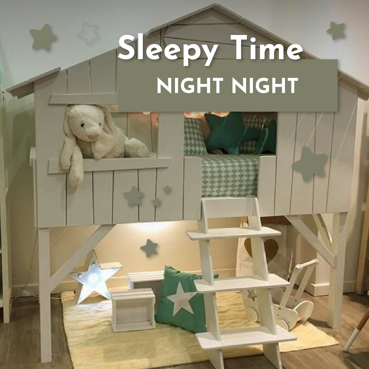 Sleepy Time - Whimsy Castle: A collaboration between two great friends!