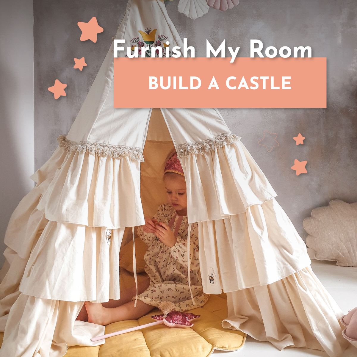 Furnish My Room - Whimsy Castle: A collaboration between two great friends!