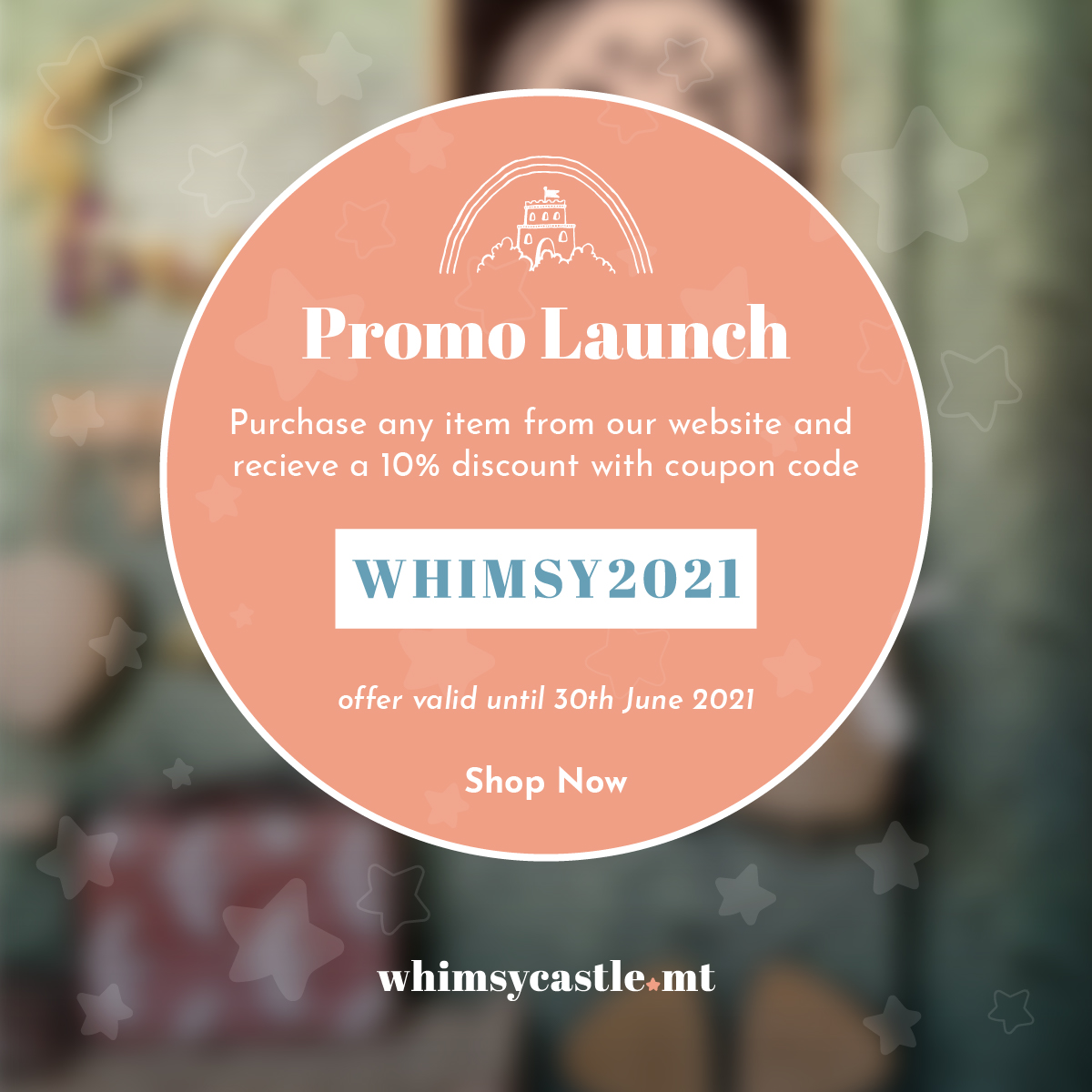 Promo Launch - Whimsy Castle: A collaboration between two great friends!
